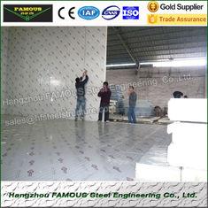 China Koude de Bergruimtehitte Geïsoleerde Gang van het polystyreenfruit in Diepvriezerzalen leverancier