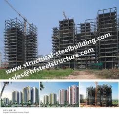 China De flats vervaardigden Gebouwen de Met meerdere verdiepingen van het Staalkader, het Staal Prefabgebouwen van de Wolkenkrabber Hoge Stijging leverancier