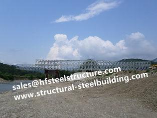 China Structureel Staalbrug voor Wegbruggen, Wegbruggen en kabel-Gebleven Brug leverancier