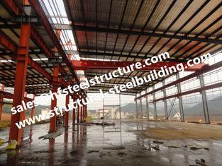 China De geprefabriceerde en pre-Gebouwde Industriële het Pakhuisbouw van het de Bouwstaal leverancier