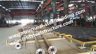 China Monopole Torens en van Roostertorens Staal Pool voor de Lijn van de Windenergieplantaardige productie leverancier