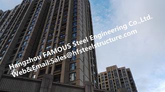 China De geprefabriceerde Industriële Staalbouw Met meerdere verdiepingen voor Flat, Staal Prefabgebouwen leverancier