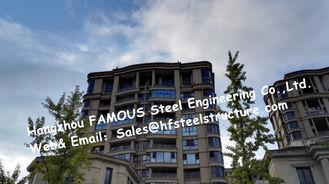 China Licht H - richt Staal Prefabgebouwen met Vervaardigd Staal/prefabriceerde Staalstructuur leverancier
