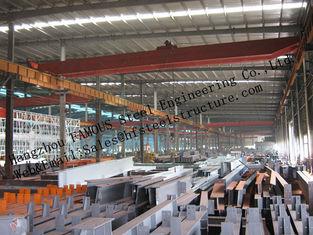 Geprefabriceerde Industriële Staalgebouwen, de Enige Structurele Gebouwen van het Spanwijdtestaal voor Pakhuis