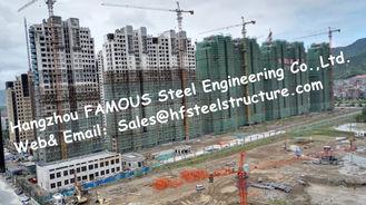 China Prefab Modulair van het Kadergebouwen van het Architectuurstaal de Flatproject Met meerdere verdiepingen leverancier