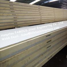 China De Zaal van de polystyreenijskast Comités 42kg Dichtheid met van het Kleurenstaal/Roestvrije staal Externe Plaat leverancier