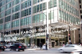 China Q345B het commerciële het Projectontwerp van Staalgebouwen en bouwt, Gemakkelijke Installatie leverancier