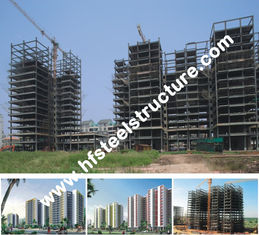 China Hete Gegalvaniseerde Onderdompeling, Elektrische Gegalvaniseerd, het Schilderen de Geprefabriceerde Commerciële Staalbouw leverancier