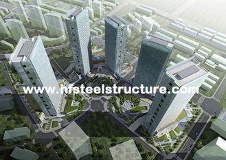 China OEM Geprefabriceerde het Lassen, het Remmen, Rolling en het Schilderen Gebouwen van het Metaal Commerciële Staal leverancier