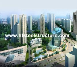 China OEM het Industriële Zagen, het Malen, Ponsen en de Waterdichte Staalbouw Met meerdere verdiepingen leverancier