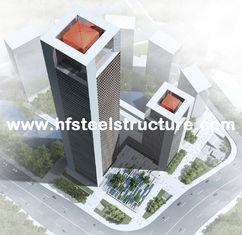 China De industriële Geprefabriceerde Prefabbouw van het Staalkader, de Staalbouw Met meerdere verdiepingen leverancier