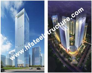 China De douane prefabriceerde Industriële Q235, Q345 de het Staalbouw Met meerdere verdiepingen van de Staalopslag leverancier