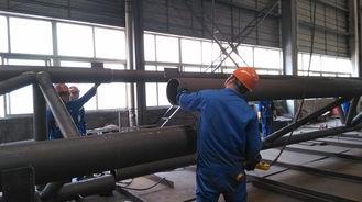 China Pre-bouwt Componenten Structureel Staal Fabrications voor de Industriële Staalbouw leverancier