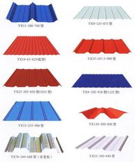 China De kleur Met een laag bedekte Bladen Customzied van het Metaaldakwerk voor Staalstructuur leverancier