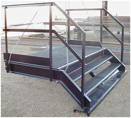 China Q235/Q345 Structureel Staalfabricators heet-Ondergedompelde Gegalvaniseerde Oppervlakte leverancier