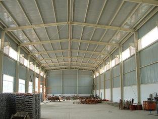China De draagbare Duurzame pre-Gebouwde Bouw, de Lichtgewichtschuur van de Staalwerkloods leverancier
