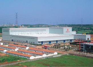 China Besproken Gemaakt Metaalpakhuis de Industriële Normen van Staalgebouwen ASD/LRFD leverancier