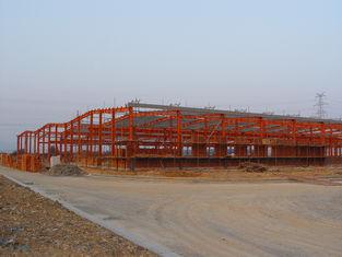China Industriële Structurele Staalwerk Aanbesteding, Geprefabriceerde Staal Ontwerpende Systemen leverancier