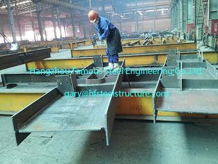 China De prestraal van de de Gebouwenh Sectie van het Techniek Commerciële Staal bedekte het Grijze Schilderen met een laag leverancier
