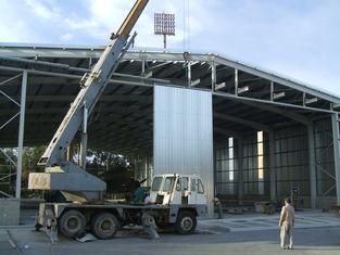 China Het besproken pre-Gebouwde Staal van de de Hangaars Rechte Kolom van Staalvliegtuigen leverancier