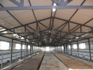 China Duurzame Geprefabriceerde Staal het Ontwerpen Koe/Paardsystemen met Flexibel Hoog Ruimtegebruik leverancier