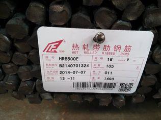 China Anti-Seismic het Versterken Staalrebar met hoge weerstand leverancier