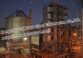 China Industriële het Cementinstallatie van Structureel Staalfabrications Bolivië leverancier