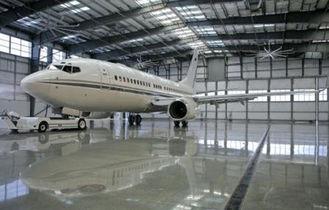 China Elektrische Gegalvaniseerd, het Schilderen Hangaar van het Metaal de Waterdichte Vliegtuig van de Gebouwen van de Leidingenbundel leverancier