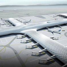China De Structuren van de douanestof en de Terminals en de Vliegtuigenhangaargebouwen van de Staal Lichte Luchthaven leverancier
