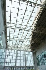 China Het douanestaal vervaardigt de Tribunes van de Bundelgebouwen van het Pijpmetaal en Sportenstadions leverancier