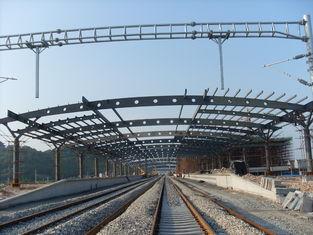 China De Bundelgebouwen van het station Structurele Metaal, het Rust-proof Schilderen met 2-4 Lagen leverancier