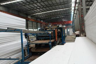 China Pre-Gebouwde de douane prefabriceerde het Industriële Systeem van het Dakwerkbladen van het Lassenmetaal leverancier