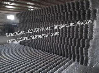 China De vierkante Gewapend beton Plakken van Geribbelde Staal het Versterken Netwerkcontruct leverancier