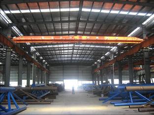 China Het elektrische van de de Monorailworkshop van de Luchtbrugkraan Opheffen van het Staalbulding leverancier