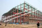 China Pre Geschilderde Industriële van het Kadergebouwen S235JR van het Workshopstaal de Kolommenkaders fabriek