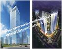 China Q345B staal prefabgebouwen met meerdere verdiepingen voor Woonhotel en Bureau Vervaardigde Contractanten fabriek