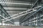 De vervaardigde Gebouwen van het Staal Industriële Staal met Gegalvaniseerde staalOppervlaktebehandeling