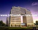 China Plasma en Oxyfuel-Knipsel, van het Brandbewijs en van het Roestbewijs Commerciële Staalgebouwen fabriek