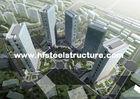 China Harde en Duurzame, Hete Gegalvaniseerde Onderdompeling, de Industriële Waterdichte Staalbouw Met meerdere verdiepingen fabriek