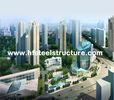 China OEM het Industriële Zagen, het Malen, Ponsen en de Waterdichte Staalbouw Met meerdere verdiepingen fabriek