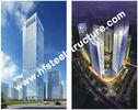 China De douane prefabriceerde Industriële Q235, Q345 de het Staalbouw Met meerdere verdiepingen van de Staalopslag fabriek