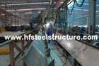 China Het scheren, het Zagen, het Malen, Ponsen en Hete Onderdompelings Gegalvaniseerd Structureel Staal Fabrications bedrijf