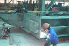 China De Kaders van structureel die Staalgebouwen door Knipsel, het Boren, het Lassen worden vervaardigd fabriek