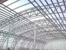 China Pre Gebouwd Structureel Staal Fabrications voor Pakhuis/Workshop/Gymnastiek fabriek