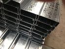 China Q235 Q345 het Gegalvaniseerde Staal Purlins van C en z-met 275g/m2-de Dikte van de Zinkdeklaag bedrijf