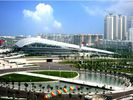 China Moderne Zware Industriële Commerciële Staalgebouwen Natatorium in Gymnasium fabriek