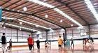 China De precisie Geprefabriceerd pre-Gebouwd Bouw van de Staalstructuur/Basketbalhof/Prefabhuis fabriek