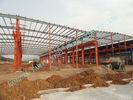 China Van het Staalgebouwen van het mijnbouwpakhuis Prefab pre Gebouwd Multispan ASTM Normen fabriek