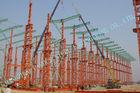 China Industrieel ASTM-Staal - ontworpen Gebouwen, het Metaalgebouwen van Geprefabriceerd huis 75 X 120 Multipan fabriek