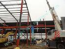 China W Geprefabriceerde Industriële het Staalgebouwen 80 ' X 96 ' van ASTM Lichtgewicht fabriek